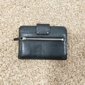 Coach Bags - Coach | Small Black Leather Wallet